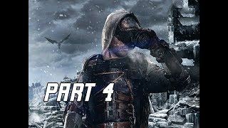 METRO EXODUS Walkthrough Gameplay Part 4 - Hostages (Let's Play Commentary)