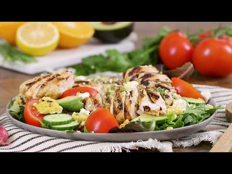 Sweet Spicy Chicken Cobb Salad