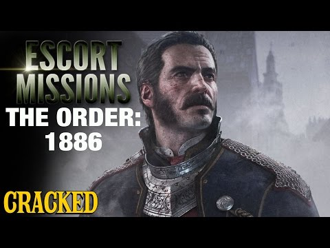 Why Most Video Games Are Basically The Same: The Order - Escort Mission