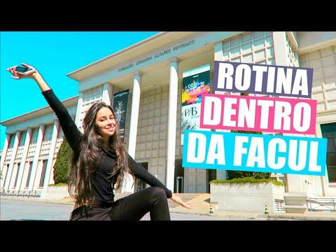 MINHA ROTINA DENTRO DA FACUL! FAAP | Stephanie Garcia