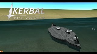 BD Armory Aircraft Carrier Kerbal Space Program
