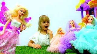 Барби попала в страну фей! Приключения Барби - Мультики для девочек