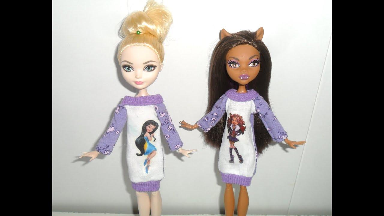 Смотреть платье для кукол