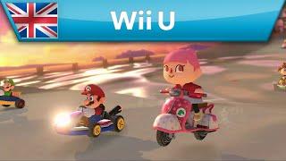Mario Kart 8 - DLC Pack 2 Teaser Trailer (Wii U) 60 FPS