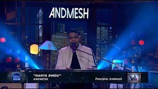 Andmesh Hanya Rindu Perform at Tonight Show