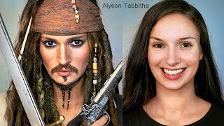 Jack Sparrow Makeup Transformation - Cosplay Tutorial