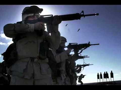 USMC Cadence - Mama Can't You See.flv