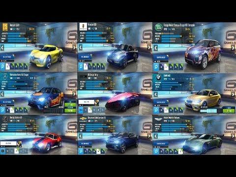 asphalt 8 best multiplayer car