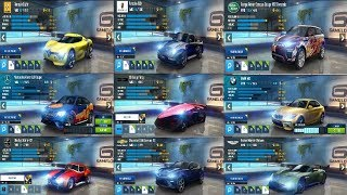 Asphalt 8 My Best Multiplayer Cars in my Garage and Tuning