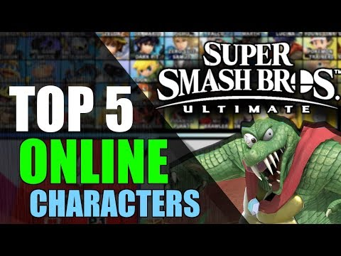 Top 5 Best Online Character (With Lag) | Super Smash Bros. Ultimate thumbnail