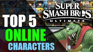 Top 5 Best Online Character (With Lag) | Super Smash Bros. Ultimate
