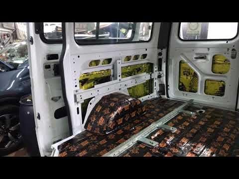 ГАЗ Соболь вибро-шумоизоляция. Полная обработка салона качественными материалами Comfort Mat