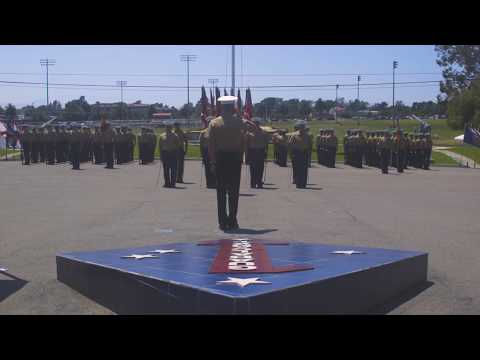 1st Marine Division Change of Command