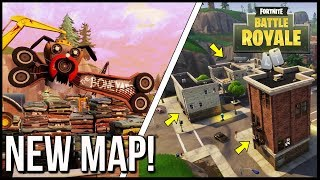 FORTNITE BRAND NEW MAP! NEW SECRETS & SECRET LOCATIONS!