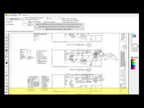 CAD-KAS PDF Zu DXF - PDF Dateien In DXF Dateien Umwandeln.