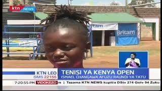 Shufaa Changawa amefuzu robo fainali ya mashindano ya tenisi ya Kenya open