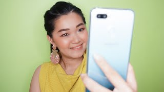 Download Video UNBOXING Oppo F9 Limited edition JADE GREEN with beauty vlogger Kathlakz MP3 3GP MP4