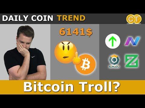 🍀6141$ Bitcoin=🖕? Komodo, NAV, ZCoin Steigen🤓 Ark Auch?
