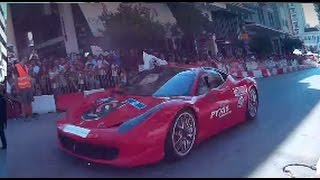 supercars drive by in track speedsector 7o pick patras 2015