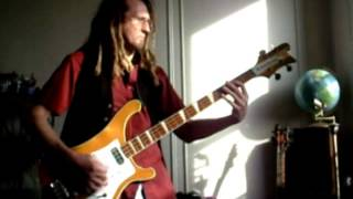 Yes America Chris Squire bass cover