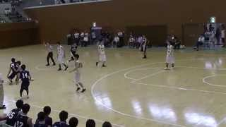 H24 関西学生バスケットボールリーグ戦 同志社大学vs大院大