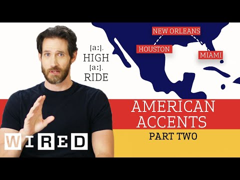 Accent Expert Gives a Tour of U.S. Accents – (Part 2) | WIRED