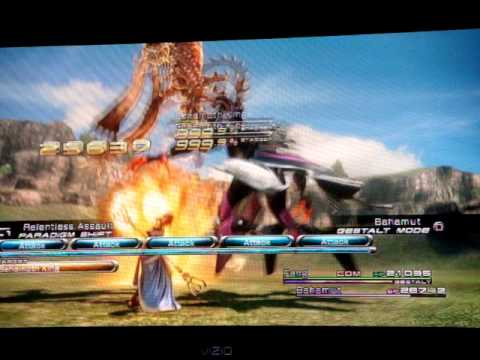 FF13 how to hit over 99,999