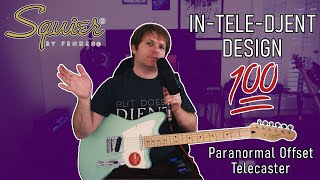 REALLY NICE! - Squier Paranormal Offset Telecaster Easycore/Hardcore demo & review