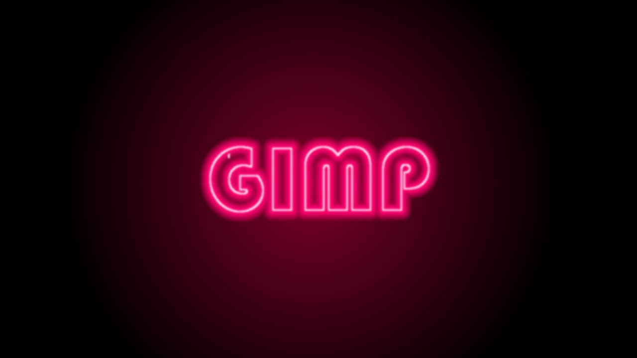 Gimp tutorial neon light text effect photoshop alternative gimp tutorial neon light text effect photoshop alternative 74 baditri Image collections