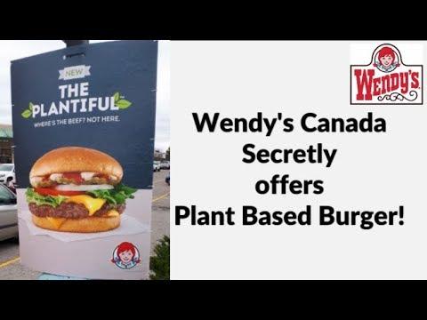 Wendy's Secretly Adds Vegan Burger At Canadian Restaurants!