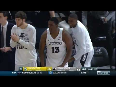 Providence vs  Marquette in 7 Minutes (2/25/2017)
