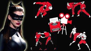 Batman Fight Scene Breakdown - Batman and Catwoman Rooftop Fight - The Dark Knight Rises