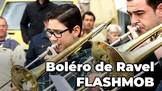 RAVEL'S BOLERO, amazing FLASHMOB! (Spain) thumbnail