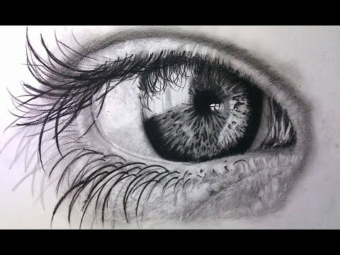 How To Draw Realistic Eyes Easy