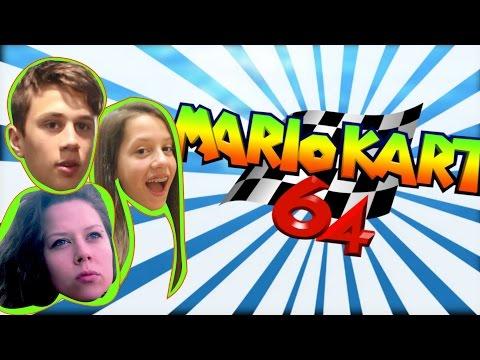"""illegal""  Mario Kart 64 w/Steph & Candice | GMO"