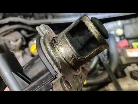 ✅ Плохо заводится пропала мощность EGR Nissan Note 1.5D 64kw 2006 Delphi ECU