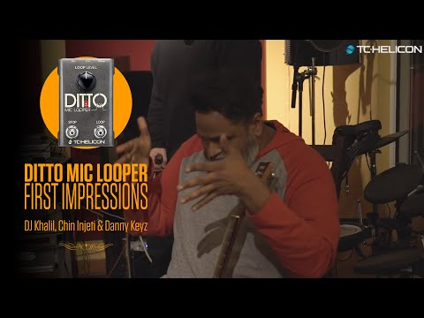 Ditto Mic Looper - First Impressions with Grammy Award-Winning Producers