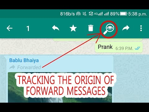 How to trace the origin of fake WhatsApp messages  WhatsApp future update