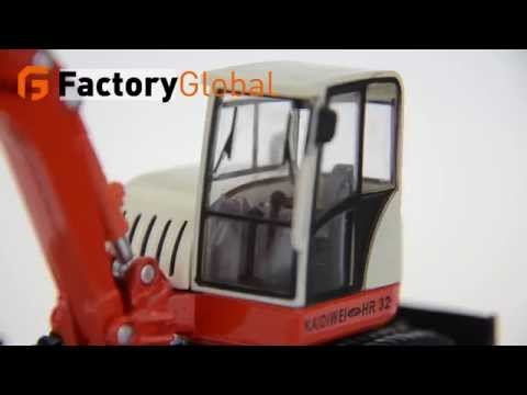 Genuine KAIDIWEI / alloy engineering vehicles seriers samll crawler excavator 1:50 FGO-TOY-LH015973