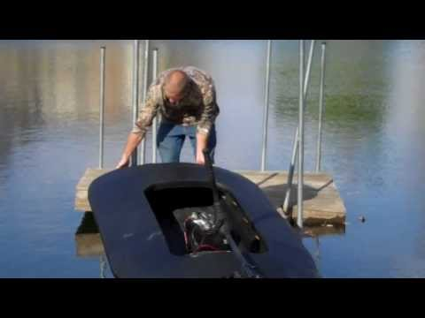 Layout boat first test