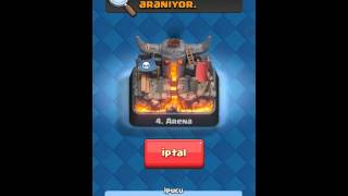 Clash Royal  -4.arena ve harika deste #2