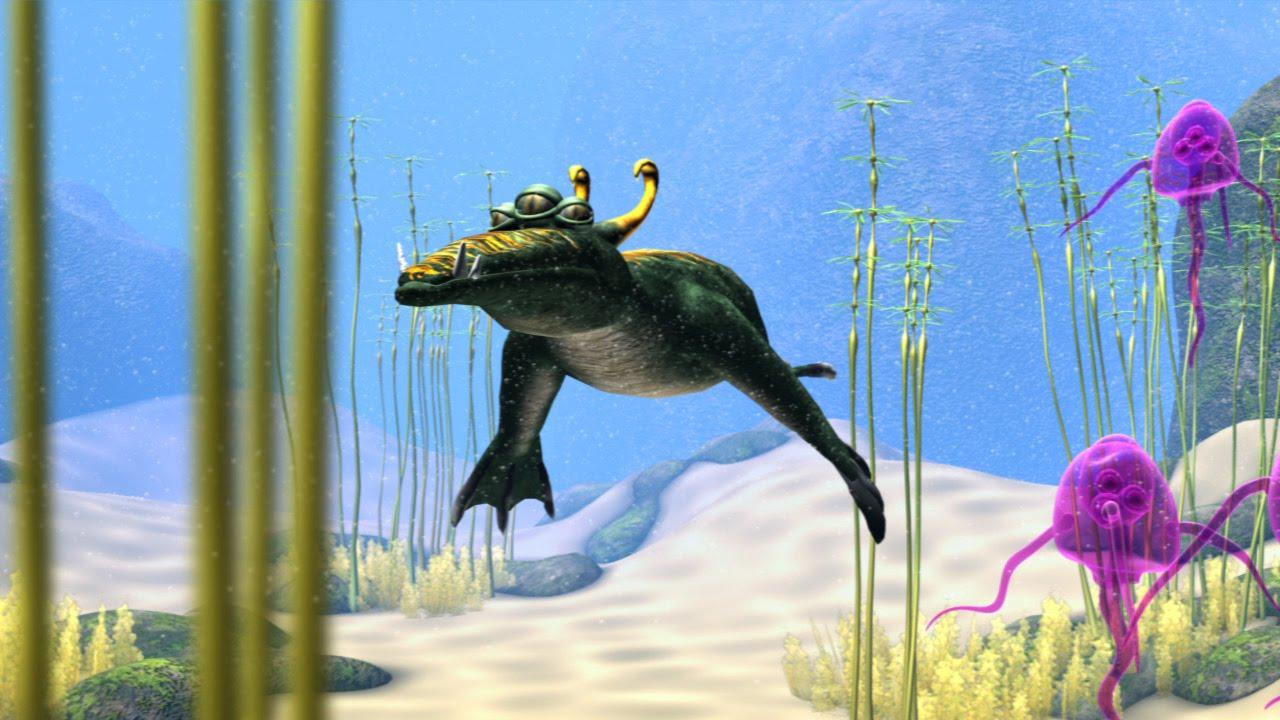 Spore: history aquatic stage.