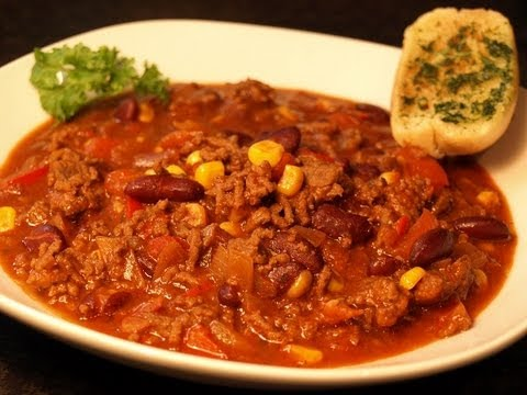Cooking Chili Con Carne Youtube