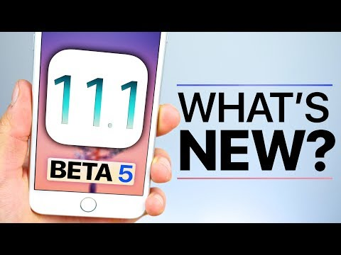 iOS 11.1 Beta 5 Released! What's New Review!