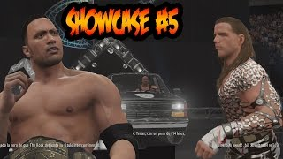 WWE 2K16 - Showcase - Stone Cold Vs The Rock - Destruyen el Auto de Stone Cold