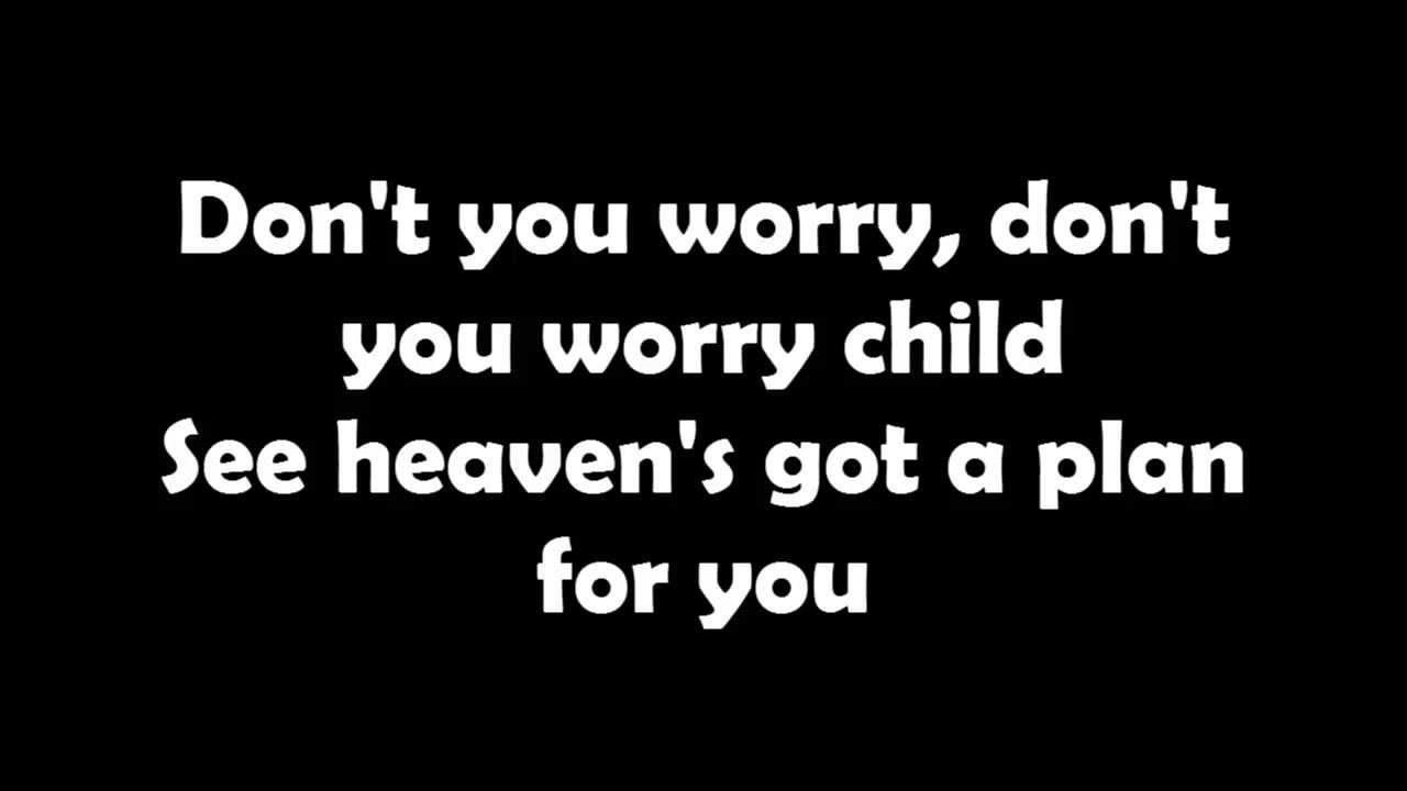 Swedish House Mafia Don T You Worry Child Lyrics Letra Youtube