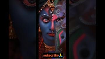 🥰Navratri Special 4k Full Screen Status🌹🖤Durga Maa Whatsapp Status Full Screen Hd🥰#short #durga #maa