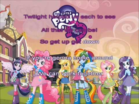 Equestria Girls (Helping Twilight Win The Crown) karaoke