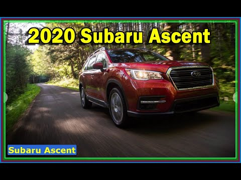 SUBARU ASCENT - 2020 Subaru Ascent Limited Review