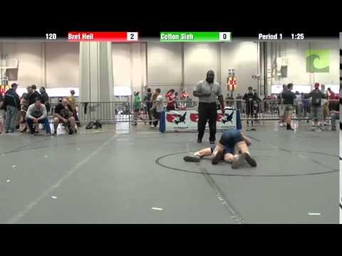 Cadet - BOY 120 - Bret Heil vs. Colton Sieh